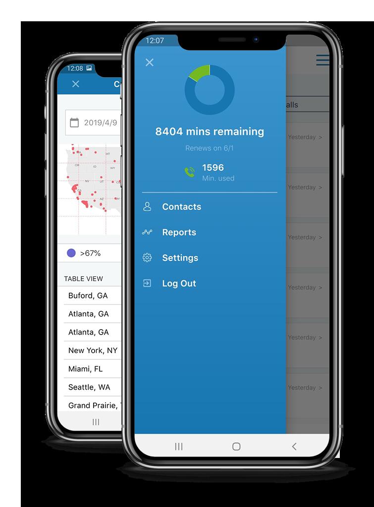 VoiceNation Virtual Reception Live Answering App
