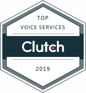 VoiceNation named top voice services 2019 by Clutch.co