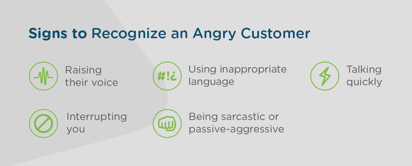 How To Recognize An Angry Customer