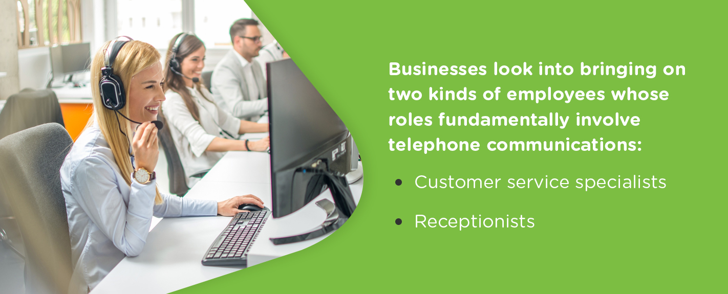 Customer Service Specialists And Receptionists