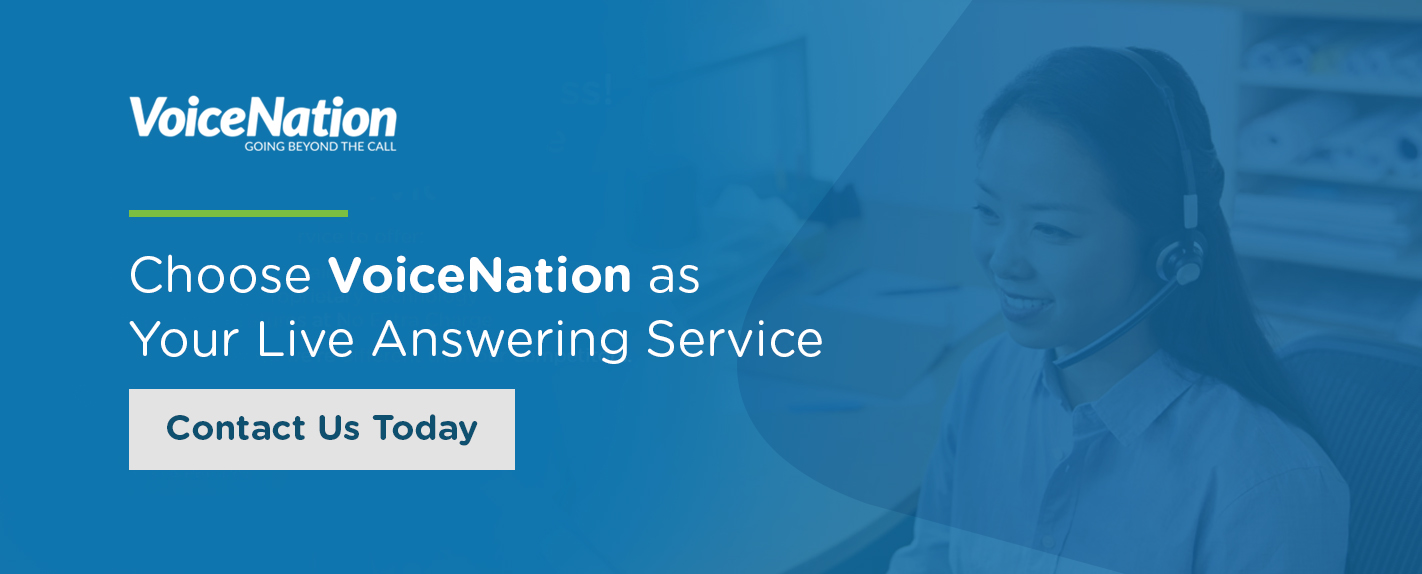 Choose VoiceNation As Your Live Answering Service