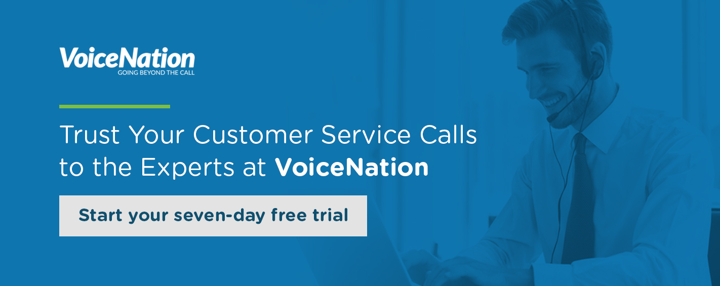 Try VoiceNation Free For Seven Days