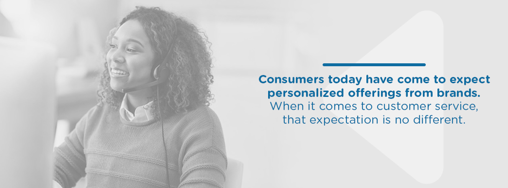 Consumers Expect Personalized Offerings