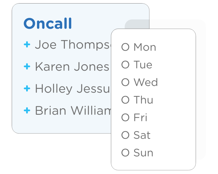 Oncall Scheduling